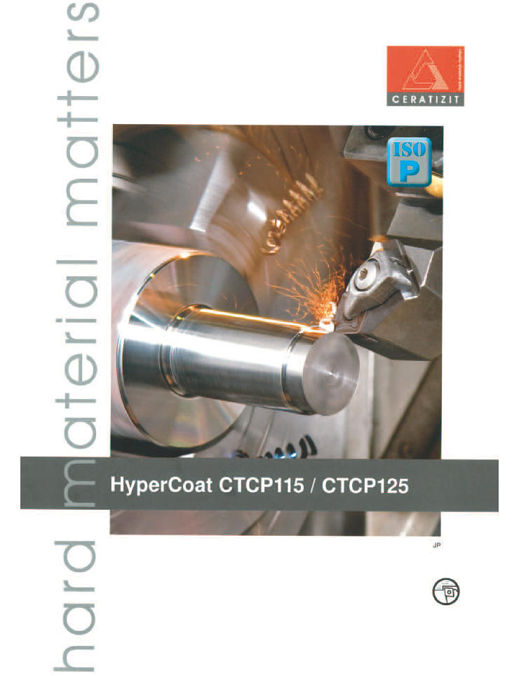 CERATIZIT HyperCoat CTCP115/CTCP125 (JPN)