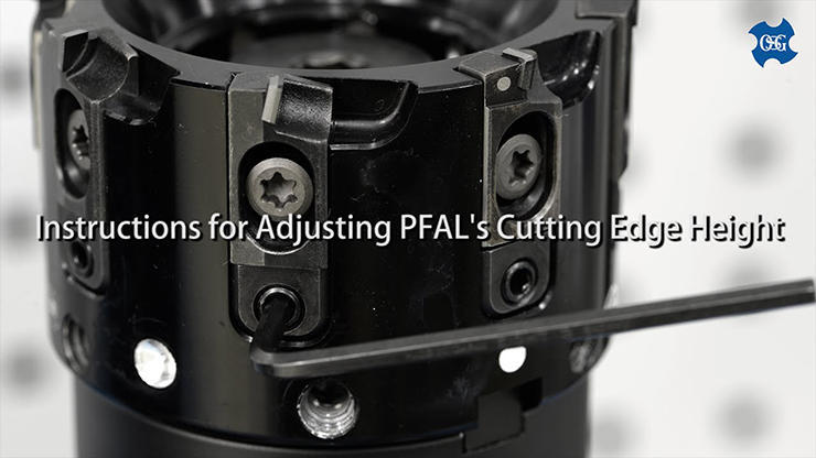 OSG PHOENIX PFAL: Instructions for Adjusting the Cutting Edge Height