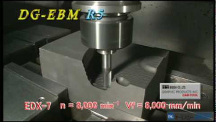 DG (Ball Type): End Mill for Graphite