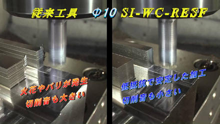 Silent Roughing End Mill Series