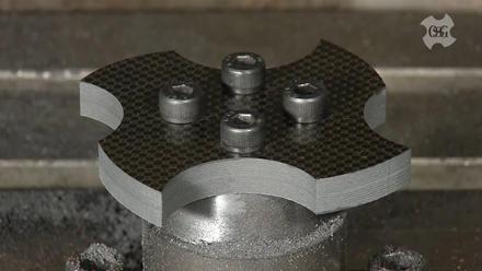 Aerospace : CFRP & Honeycomb