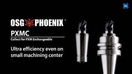 OSG PHOENIX PXMC: Collet for PXM Exchangeable Head End Mill