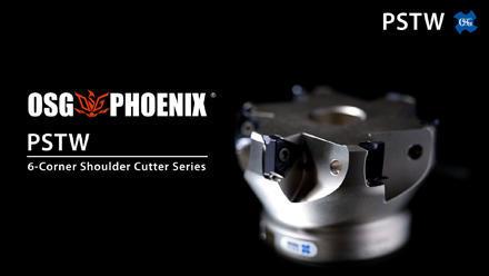 OSG PHOENIX PSTW: 6-corner Shoulder Cutter
