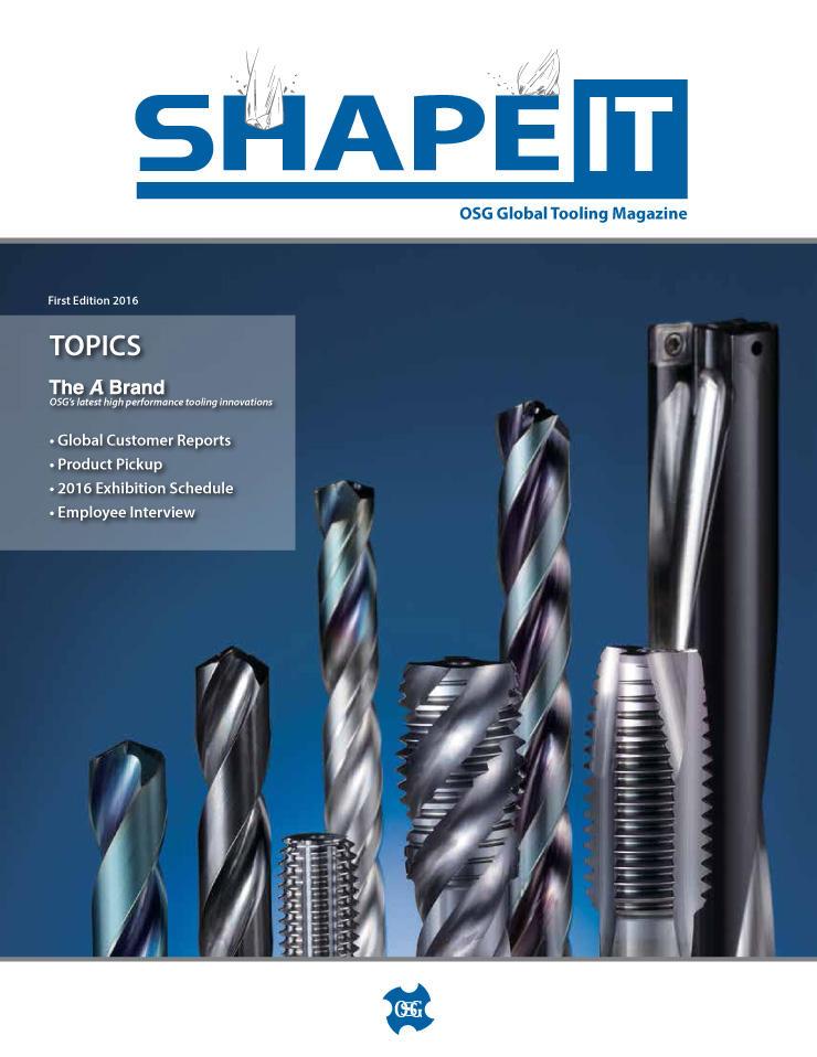 OSG SHAPE IT 2016 vol.1