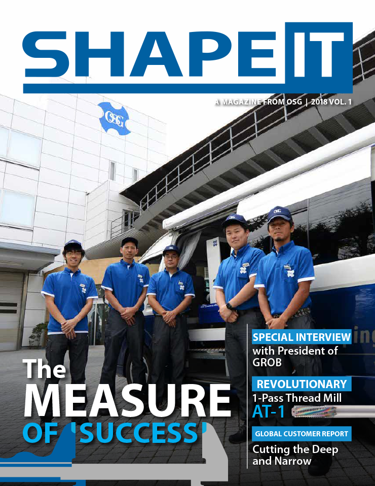 OSG SHAPE IT 2018 vol.1