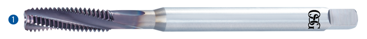 Carbide A-Tap Series Features