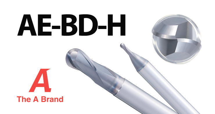 [New Product]Carbide Ball End Mills for High Hardness Steels