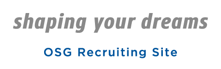 shaping your dreams OSG Recruiting Site
