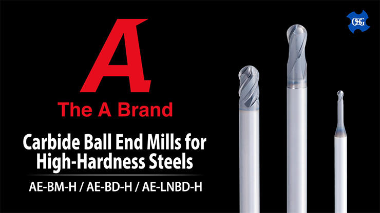 Carbide Ball End Mills for High-hardness Steels